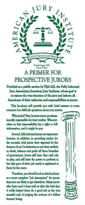 Primer for Prospective Jurors