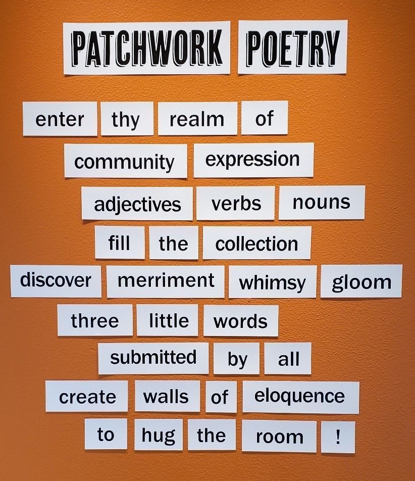 "Welcome to ""Patchwork Poetry"""