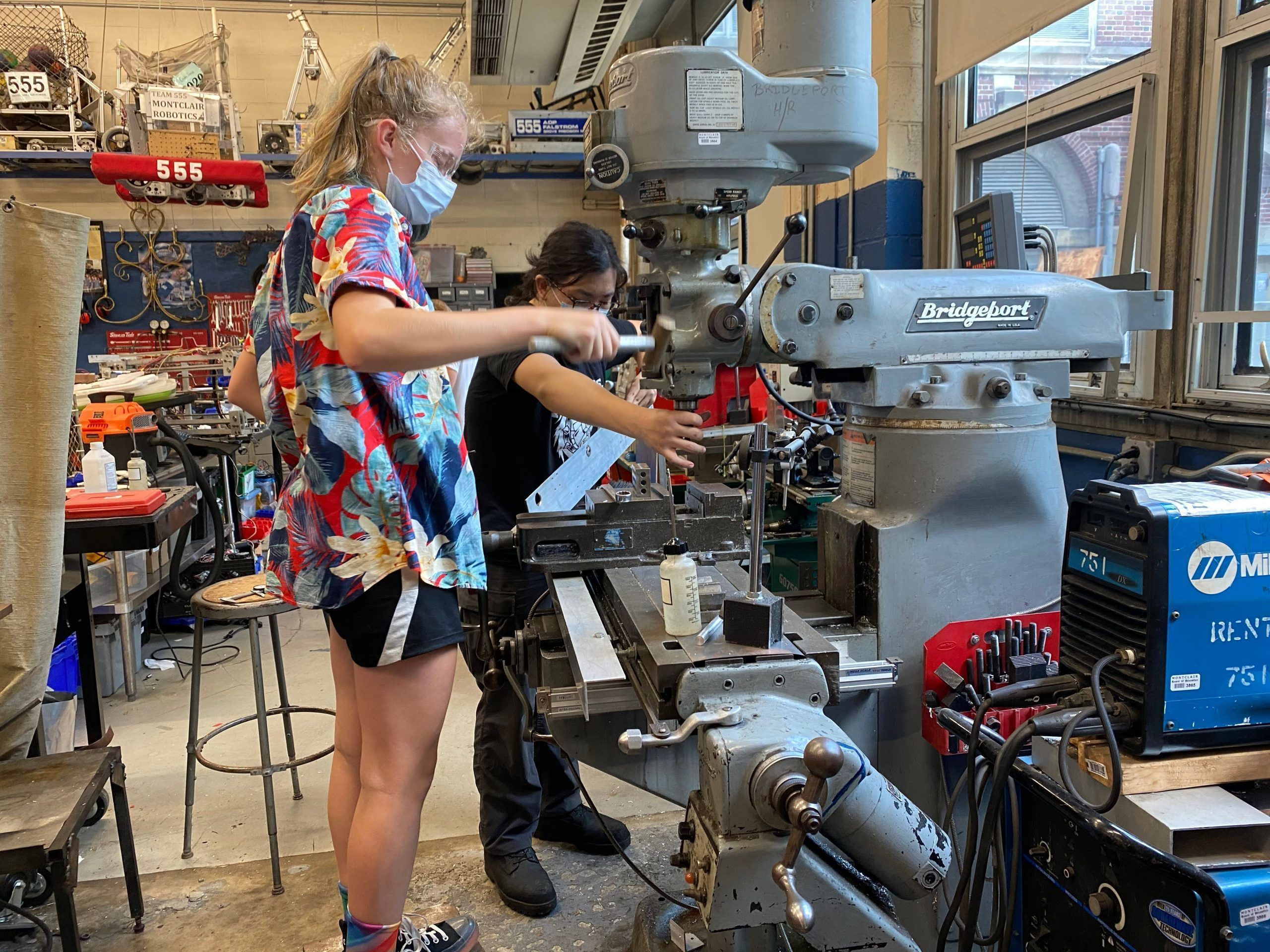 Montclair Teen Roboticists Invent Wheelchair for a Wounded Warrior