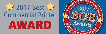 2017 Best Commercial Printer Award