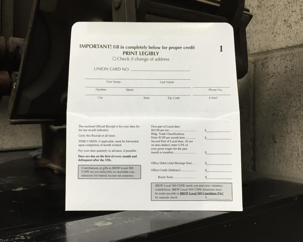 Remit Envelopes