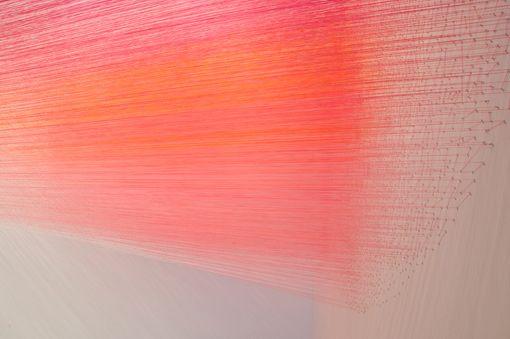 Anne Lindberg, drawn pink (2012)