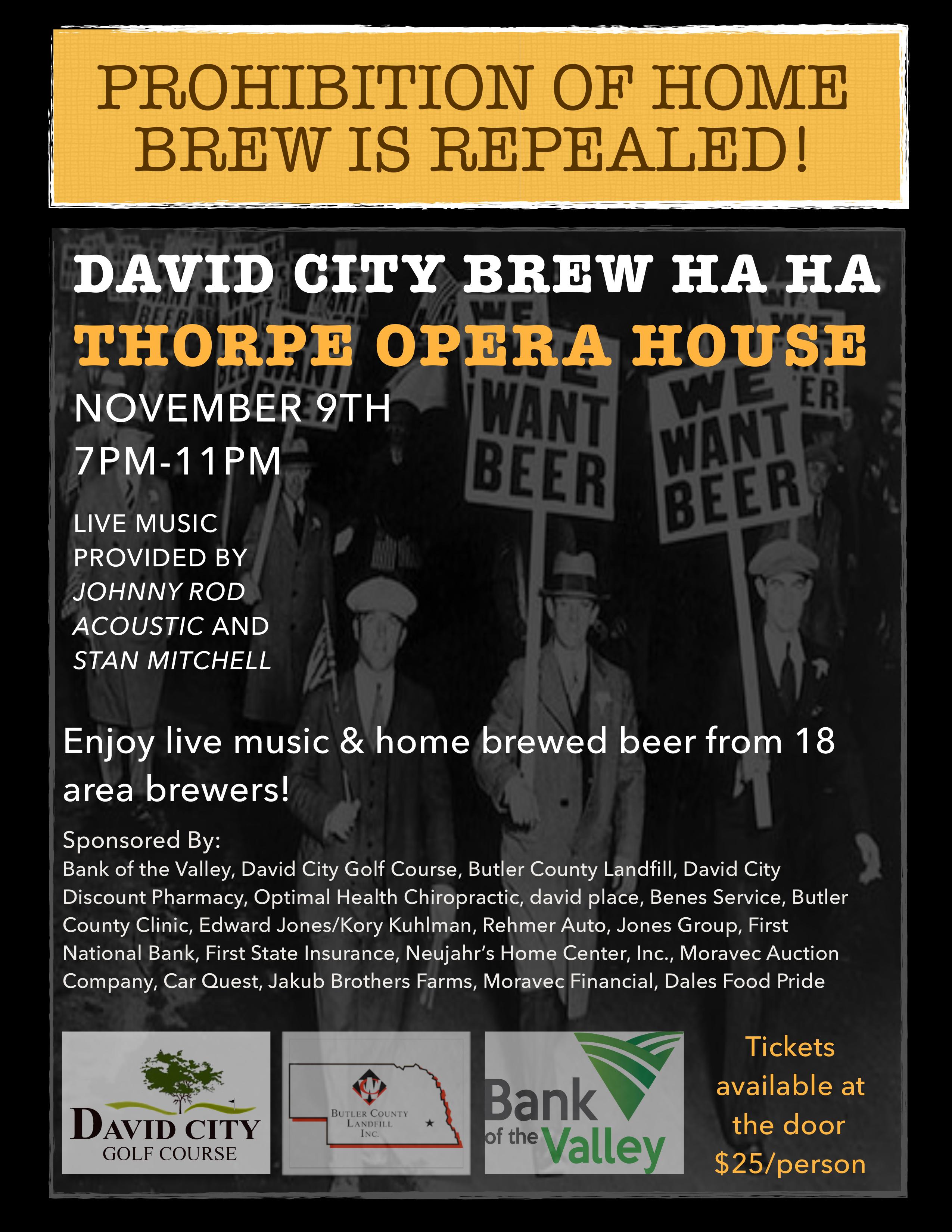 David City Brew Ha Ha