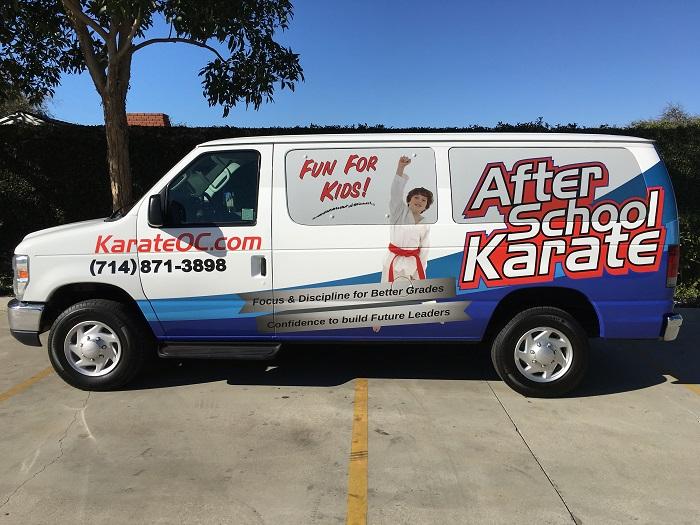 Karate Van 3/4 Wrap