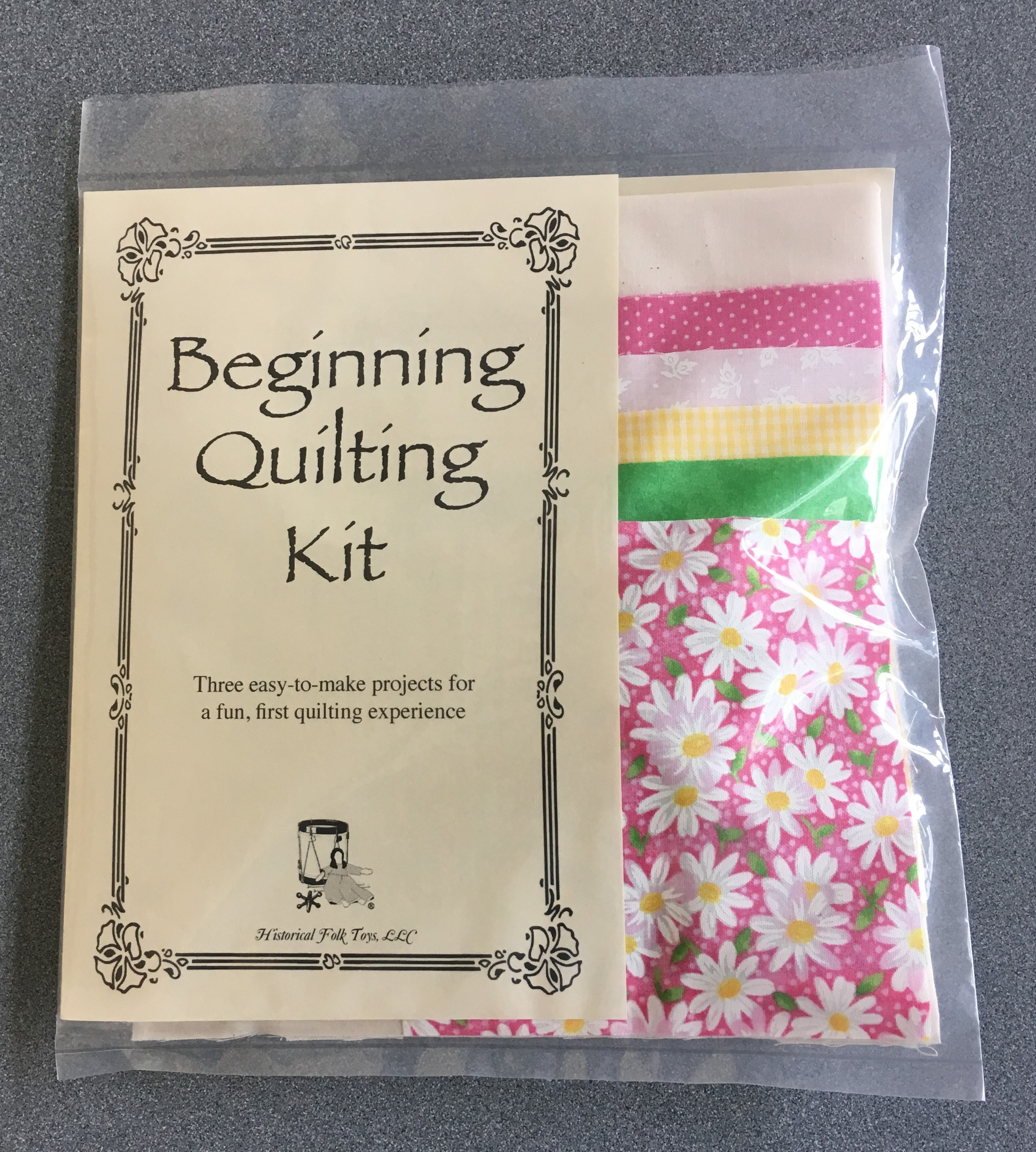 Beginning Quilting Kit
