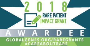 2018 RARE Patient Impact Grant Recipient