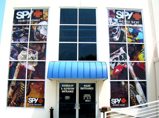 Retail - Window Graphics Motorcycle