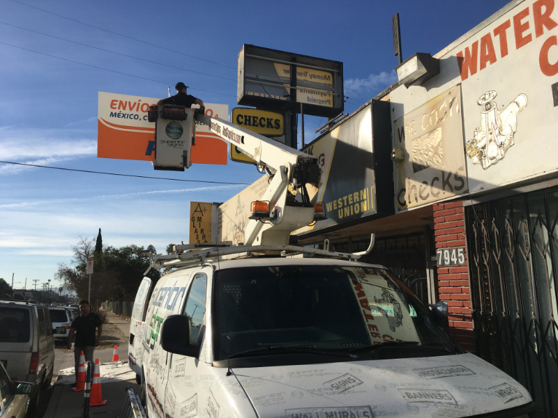 Sign Installations | Buena Park | Orange County CA