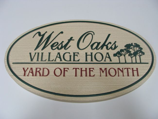 M1044 - Yard-of-the-Month Sign (Gallery 19B)