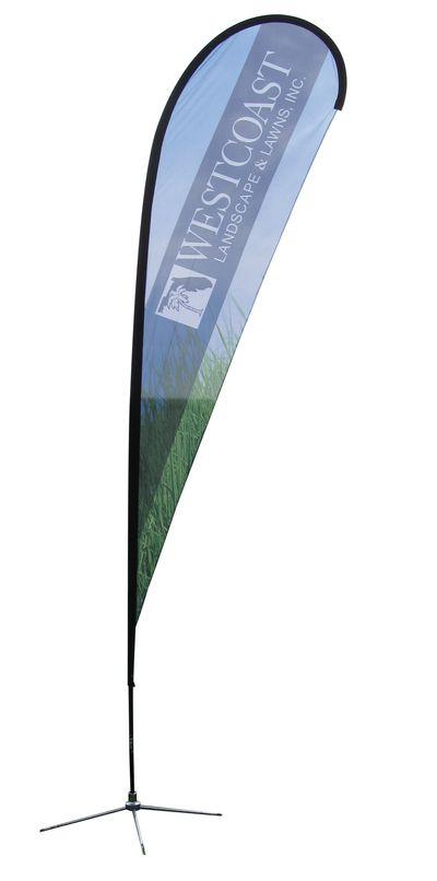 Tear Drop Flag 2