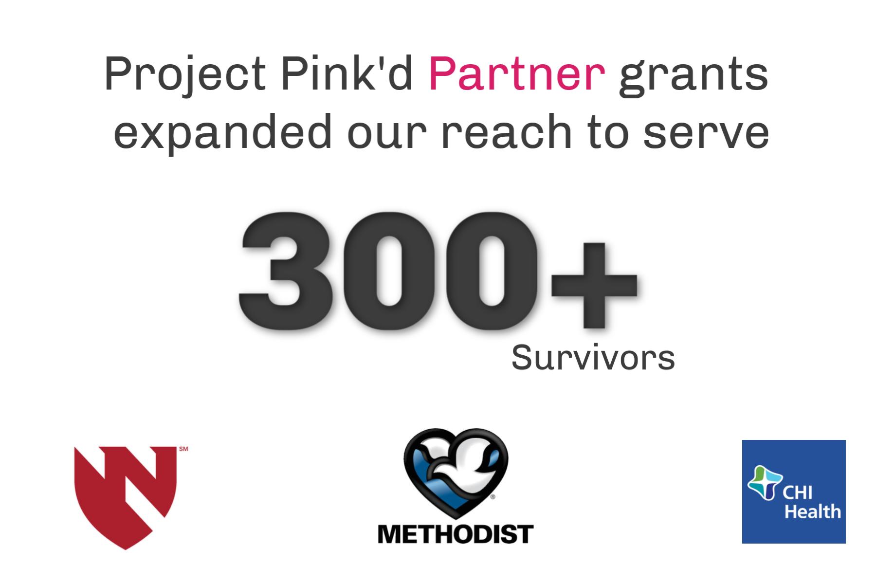 Project Pink'd Partner Grants Extends Mission