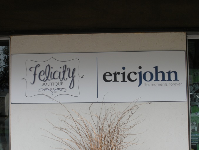Felicity.EricJohn Sign