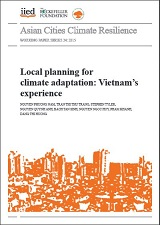 Local Planning for Climate Adaptation: Vietnam's Experience