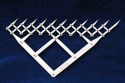 The 10 Point Divider (sometimes called an 11 Point Divider) pictured below came from the estate of a now deceased former cryptographer.
