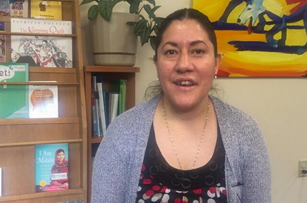 Meet Reyna from Literacy Network
