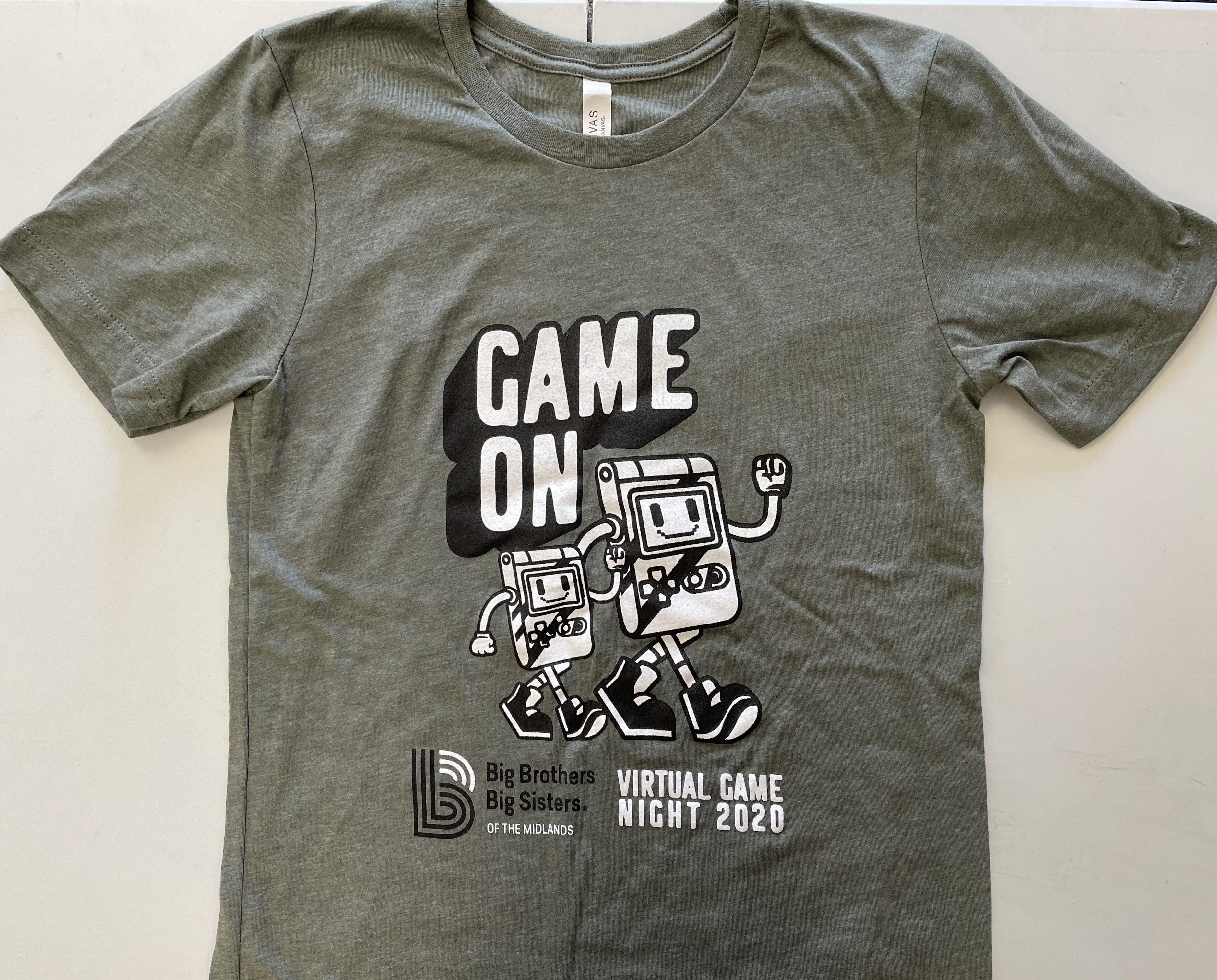 Virtual Game Night Throwback Adult T-Shirt (LARGE)