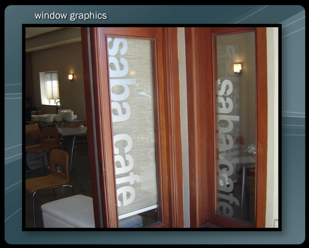 FROSTED WINDOW GRAPHICS