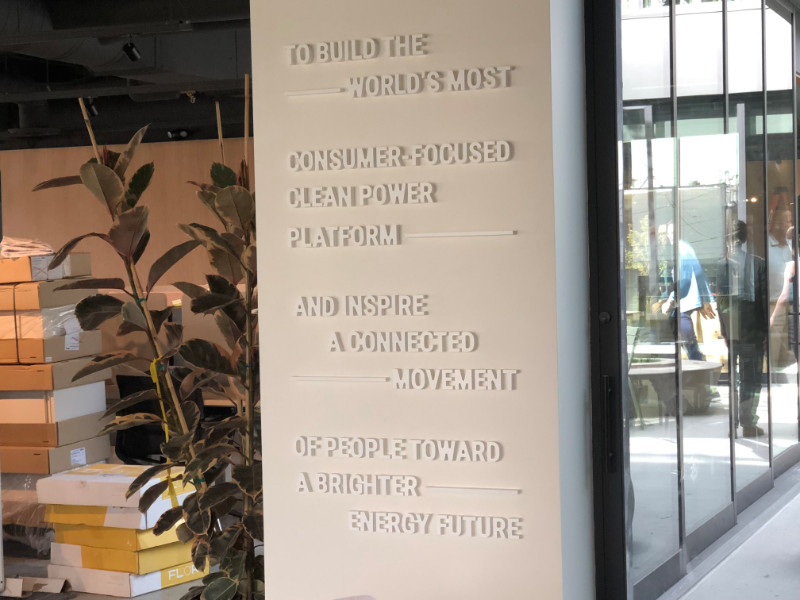 Three dimensional lettering for lobbies