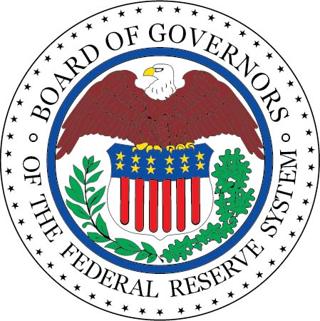 U30476 - Board of Governors of the Federal Reserve Seal Carved Wooden Plaque