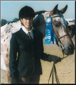 Carla with Horse Prize