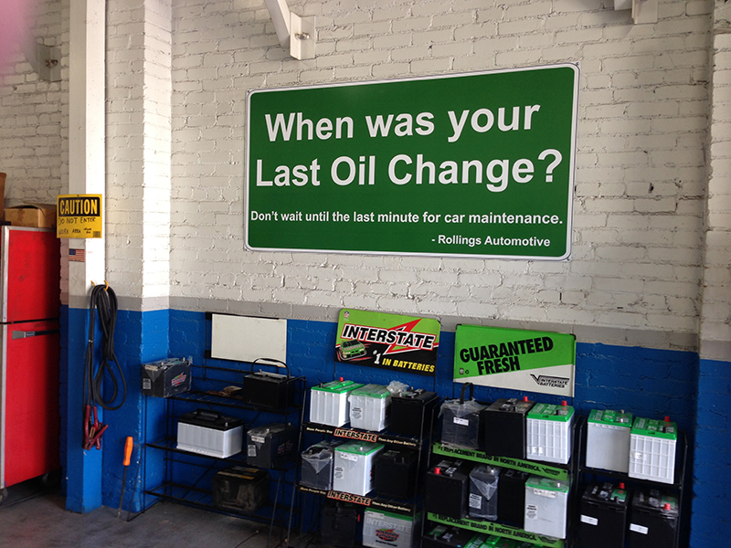 Garage Auto Repair Commercial Real Estate For Sale Delaware: Specialty Signs, Sandwich Boards, Wind Flags, A-frame