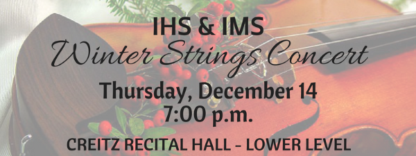 IMS/IHS STRINGS CONCERT