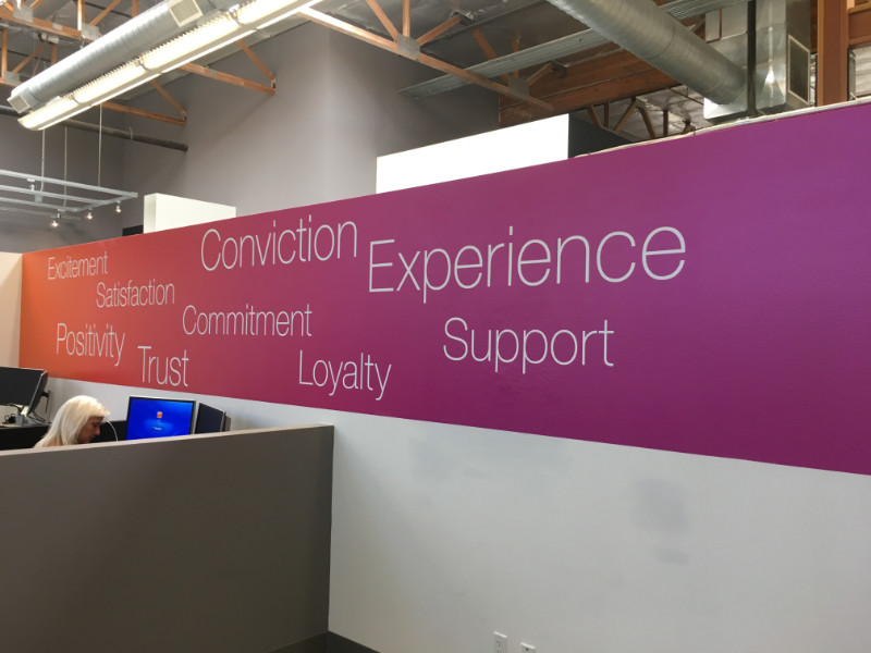 Wall Murals and Graphics for Offices in Orange County CA