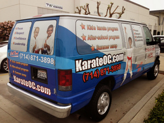 Fleet graphics and wraps Orange County