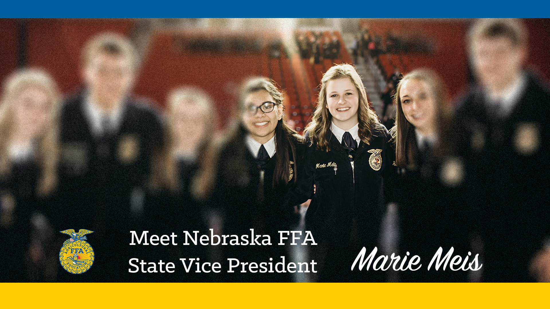 Meet Your 2018-19 Nebraska FFA Vice President: Marie Meis