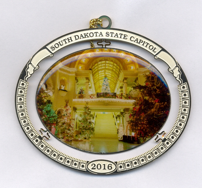 2016-2nd Annual State Capitol Collectable Ornament