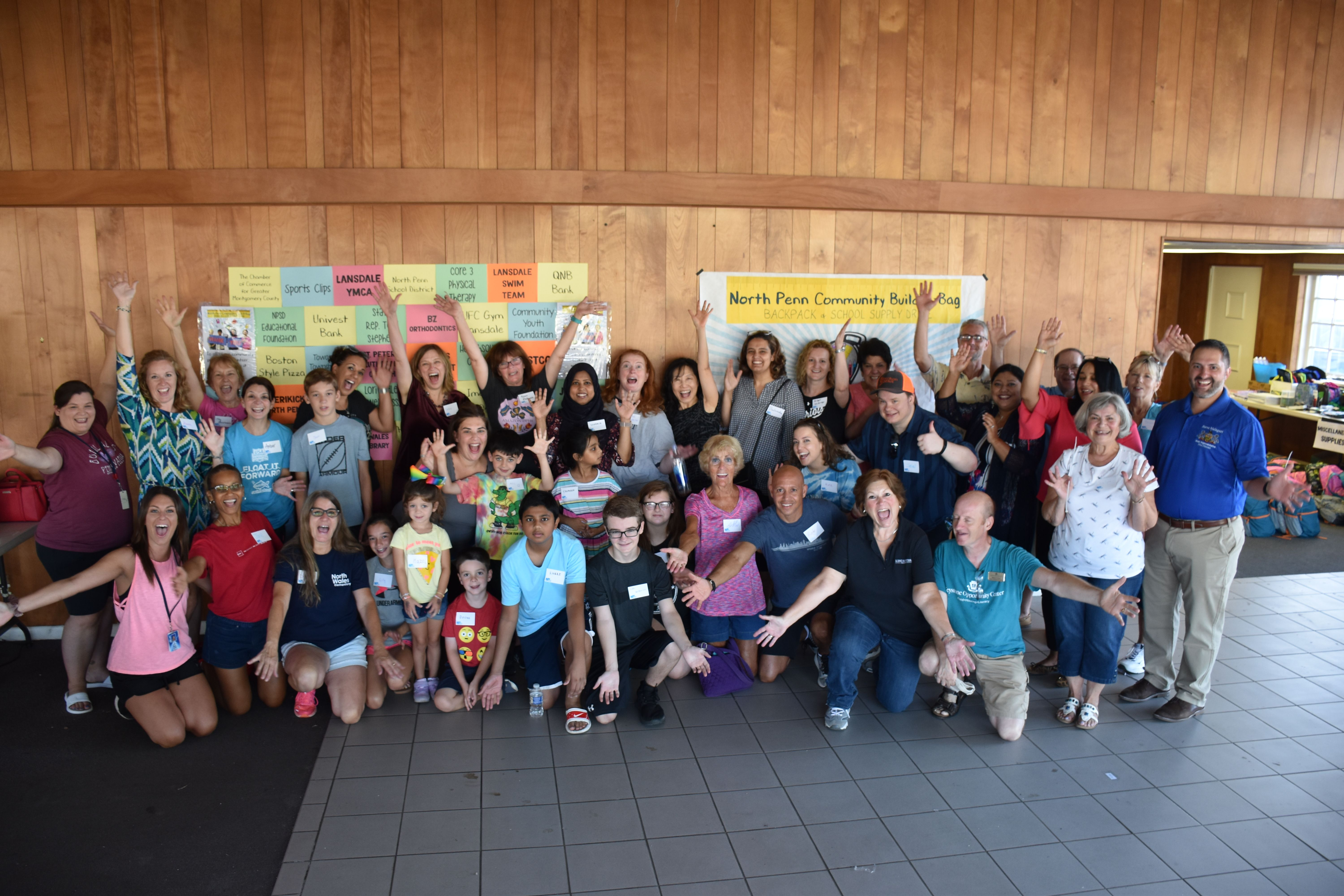 North Penn STRONG Commuity Build-A-Bag Backpack and School Supply Drive