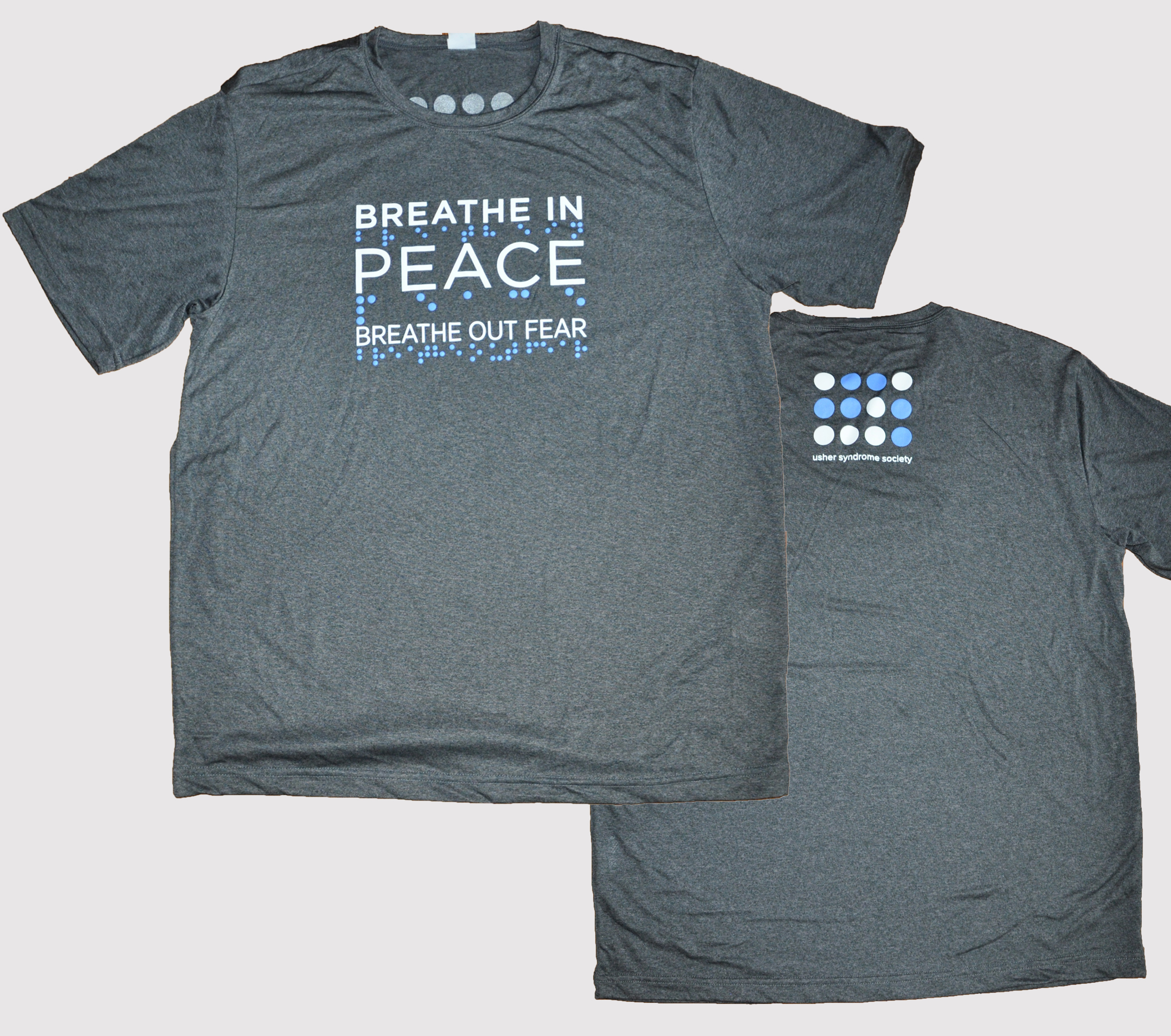 Breathe In Peace Athletic Mens T