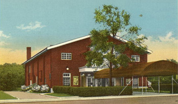 The Fort Benjamin Harrison Theater in its heyday.