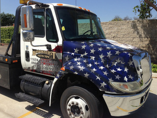 Fleet Tow truck graphics and wraps Anaheim CA