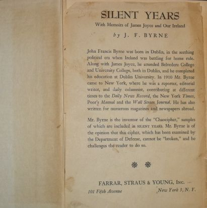 Silent Years by John Byrne