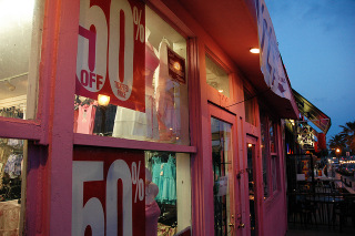 Window graphics for retail stores in Bend OR