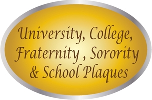 EA-6000 - Sintra Plaques with University & College Seals as Giclee Appliques