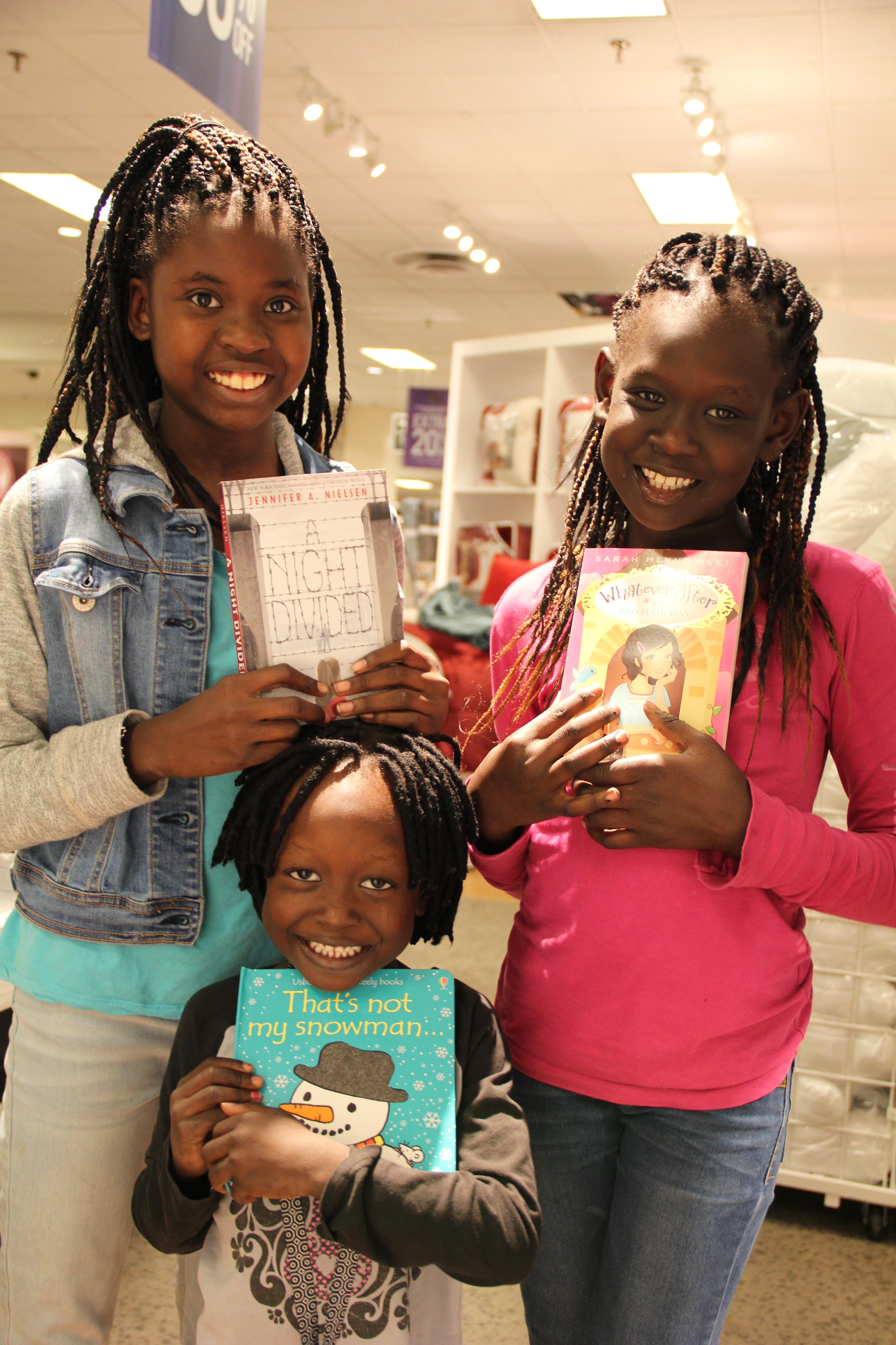 Three Happy Young Ladies