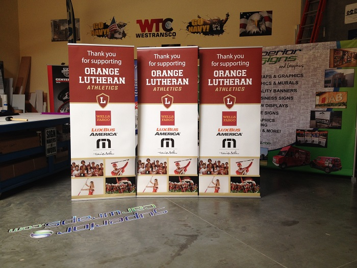 Banner Stands for Events