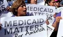 Medicaid Matters Protest