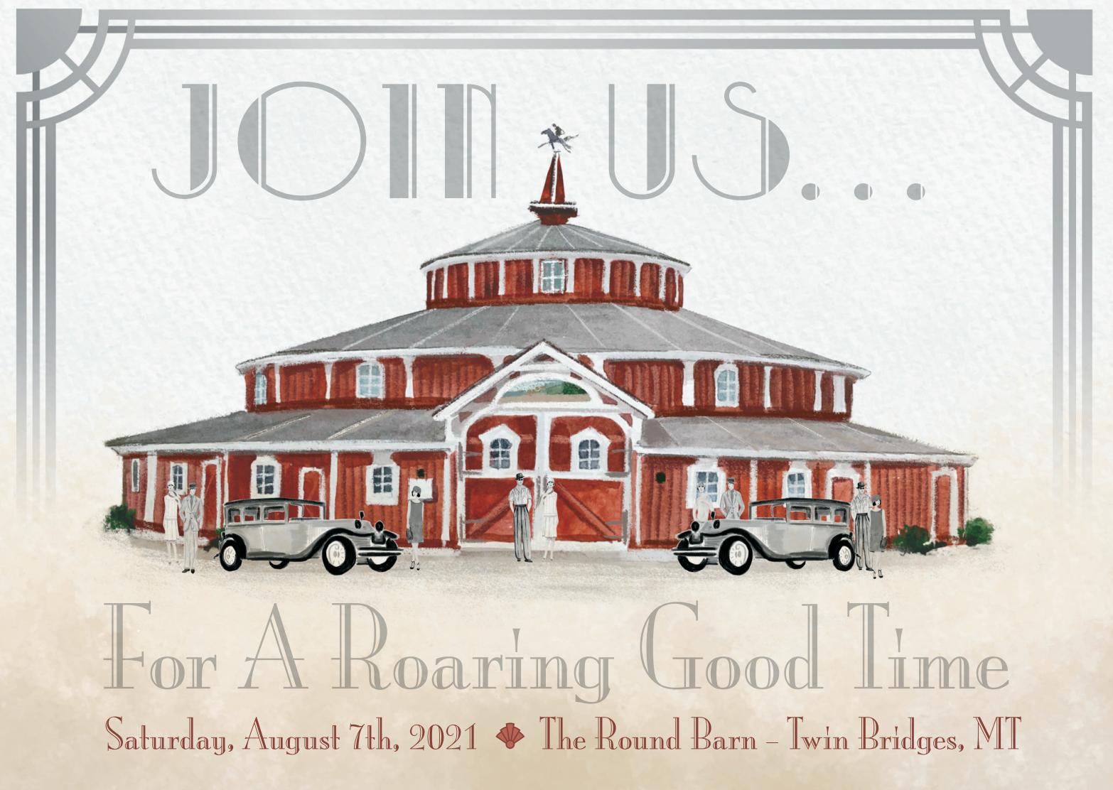 Roaring 20s Gala August 7, 2021