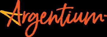 Argentium Logo in Orange