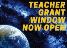 Teacher Grant Window is Open!