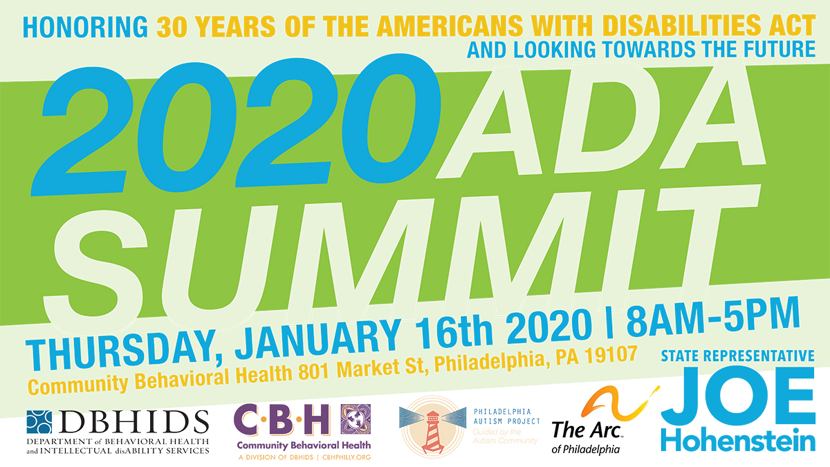 You're Invited to the ADA Summit! January 16, 2020