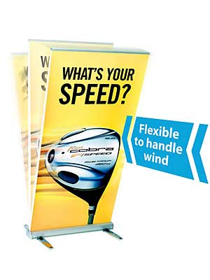 Banner Stand - Outdoor