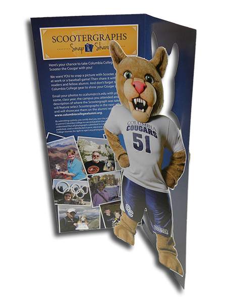 Scooter Mascot Cards