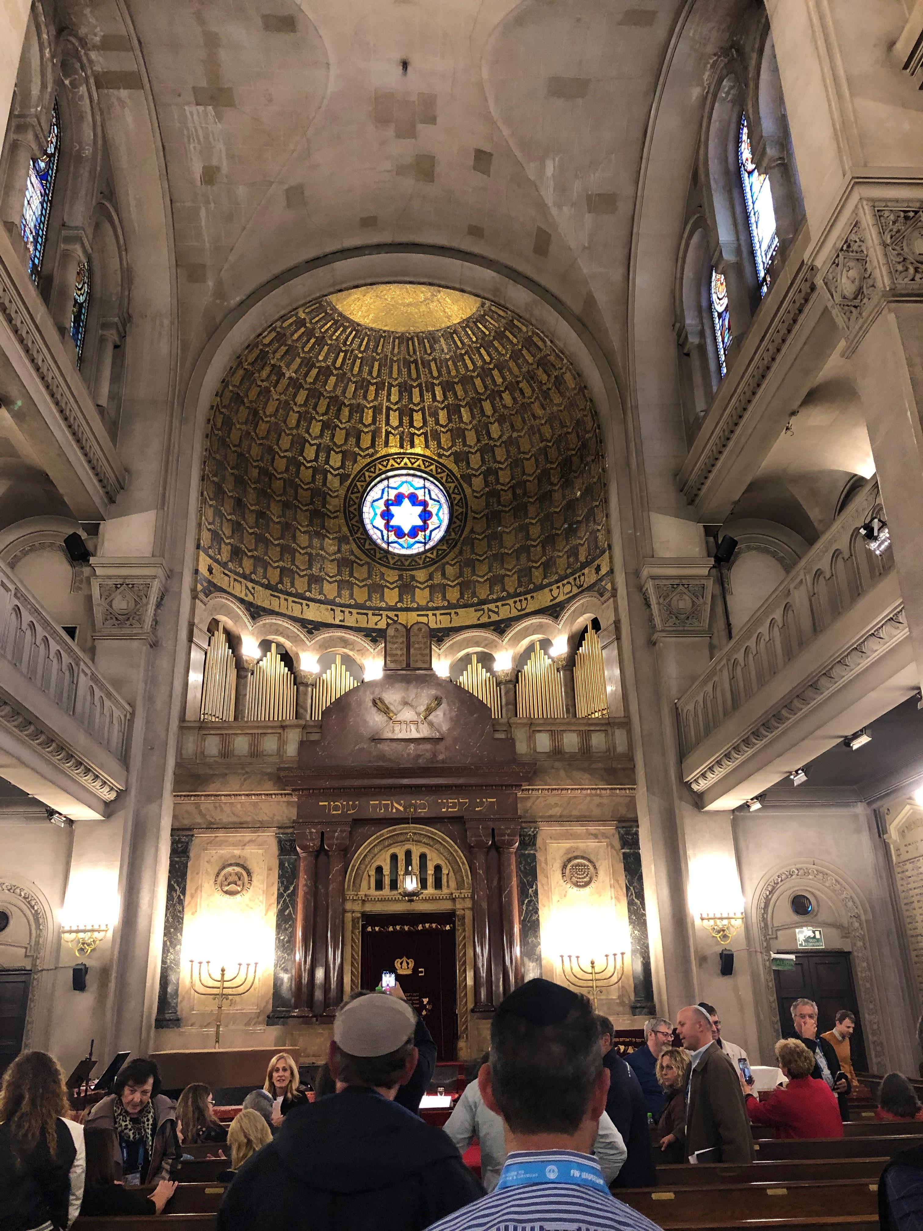 Inside Templo Libertad