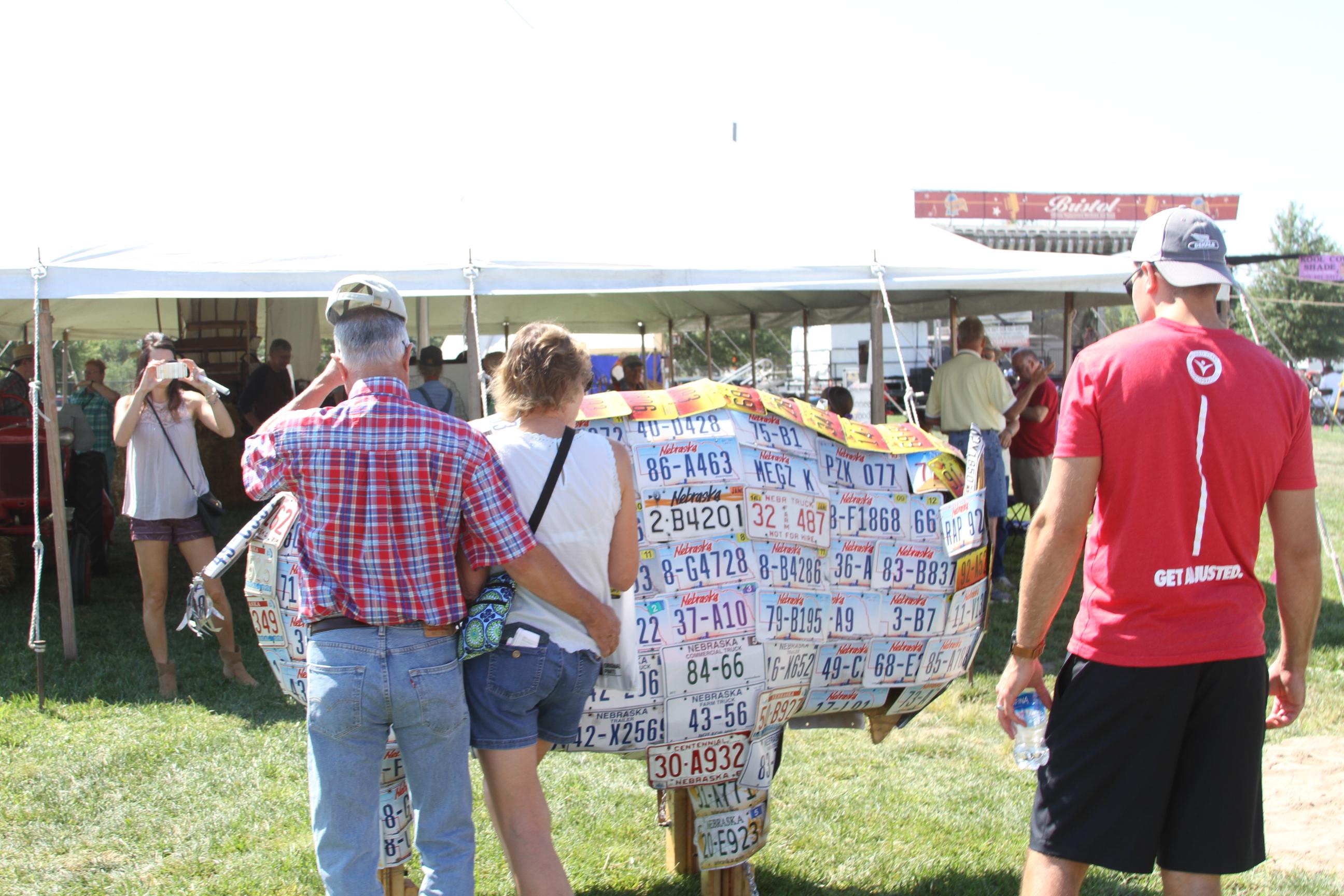 Stuhr at the State Fair