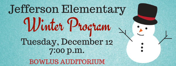 JEFFERSON WINTER PROGRAM