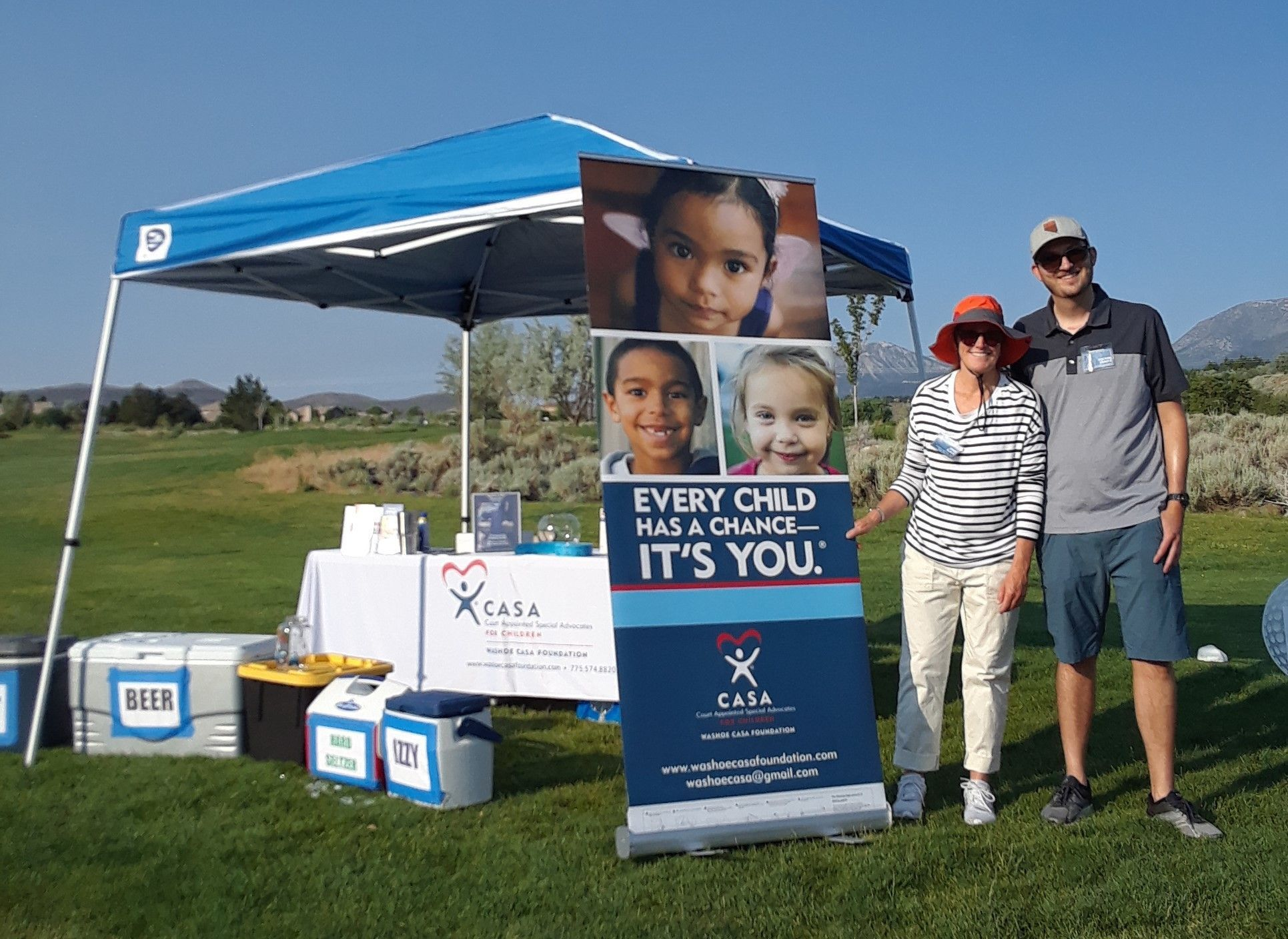 Washoe CASA Foundation at Helix Electric Charity Golf Tournament